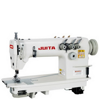 JT8778 HIGH-SPEED DOUBLE NEEDLE OR THREE NEEDLE CHAIN-STITCH SEWING MACHINE