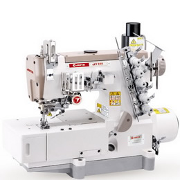 JT888-01CB※UT-Z COMPUTER-CONTROLLED DIRECT DRIVE HIGH-SPEED BIG STRETCH SEWING MACHINEWITH AUTOMATIC THREAD TRIMMER